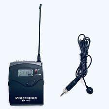 Sennheiser SK 100  SK100 G3 ENG Wireless Lapel Bodypack Transmitter ME4 Mic