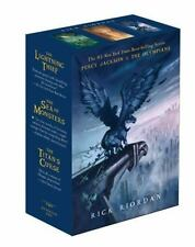 NEW - Percy Jackson and the Olympians Paperback Boxed Set (Books 1-3)