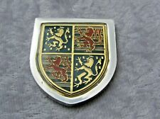 THE COATS OF ARMS OF THE GREAT MONARCHS OF HISTORY INGOT ADOLPHUS FRANKLIN MINT