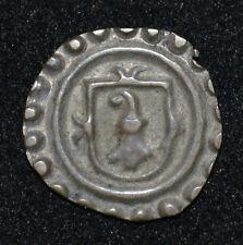 Switzerland, Basel 15th Century Silver Bracteate Holpfennig Medieval Half Penny
