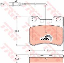 GDB1031 TRW Brake Pad Set, disc brake Front Axle