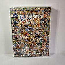 WHITE MOUNTAIN Puzzle Television History 1000 Piece Jigsaw Puzzle