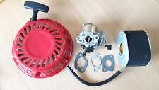 Démarreur à Lanceur Carbu Filtre Pipegaskets Compatible avec Honda Générateur
