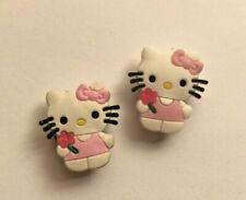 Hello Kitty PVC Shoe Charm Set of 2 (Bow)
