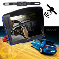 "XGODY 7"" Car GPS Navigation+Wireless Reverse Camera Bluetooth AV-IN 3D Map 8GB"