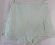 LOT 2 COTTON BLOOMERS BOXERS WOMEN PANTIES 1 PINK, 1 GREEN COTTON CROTCH SIZE 13
