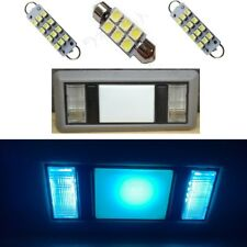 2 Map & 1 Dome Ice Blue LED lights for 1988-1998 Chevy Silverado / GMC Sierra