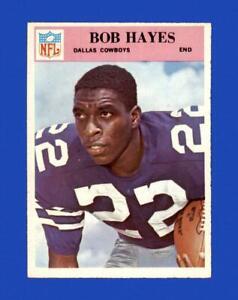 1966 Philadelphia Set Break # 58 Bob Hayes NR-MINT *GMCARDS*