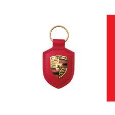 Porte Clés Porsche Rouge - 911 944 924 928 968  Boxster Cayman Cayenne Panamera