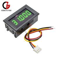 """3wire 5 Digit 0.36"""" DC 0-33.000V Green LED Digital Voltmeter Voltage Meter Panel"""