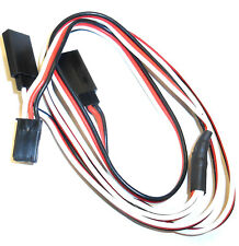 8012 F Compatible Futaba Conector Servo Y Extensión Cable 60 cm 600 mm