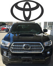 Matte Black Front Grill Vinyl Decal Overlay For 2016-2017 Toyota Tacoma New USA