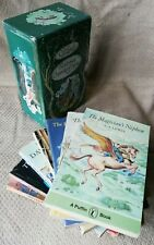 Rare 1970s decorative Box Set of the Chronicles of Narnia by C S Lewis.