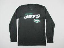 New York Jets Nike Long Sleeve Shirt Men's Black Dri-Fit New Multiple Sizes