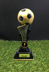Football Ball Tower World Cup style  Award - FREE ENGRAVING - 225mm