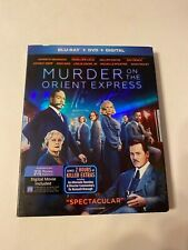 Murder on the Orient Express w/ Slipcover (Bluray/DVD, 2017) [BUY 2 GET 1]