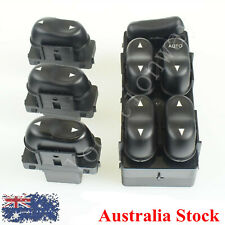 Master Power Window Switch + 3 Single Switch Controls For Ford Fairmont Fairlane