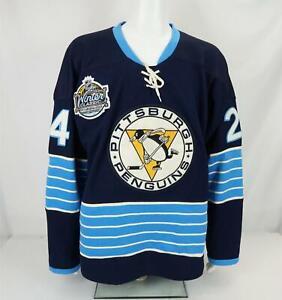Pittsburgh Penguins Hockey Jersey Reebok Winter Classic Matt Cooke #24 Size 50