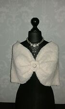 From Nell McCaffery, a unique, hand crafted bridal cape. So special for you