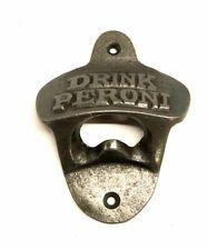 Peroni Wall mounted metal bottle opener Cast Iron Bottle Opener Pub Bar