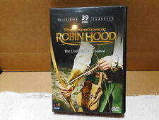 Dvd The Adventures of Robin Hood complete first season 39 episodes Tv classics