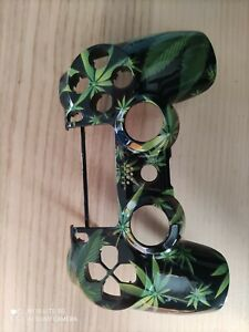 Custom Marijuana Weed Playstation 4 Controller Faceplate Shell - PS4 V2 Mod Kit