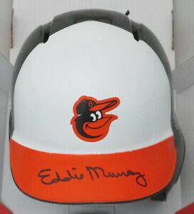 Orioles Hall of Famer EDDIE MURRAY Signed Baseball Rawlings Mini Helmet AUTO JSA