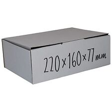 25 Pcs 220x160x77mm Bulk Cardboard Boxes mailing Carton boxes Mailing Box White