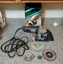 """BLACK & DECKER 2750 4-1/2"""" 6A Angle Grinder w/ Wolfcraft 2920 Biscuit Joiner Kit"""