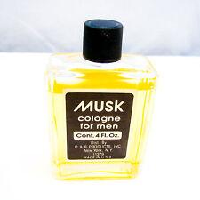 D & B Products MUSK Cologne for Men Splash 4 oz MISSING SOME