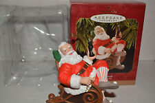 Hallmark Keepsake Ornament Coca Cola Santa Taking A Break - Coke