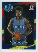 2017-18 JONATHAN ISAAC PANINI DONRUSS OPTIC RATED ROOKIE RC #195 RED YELLOW