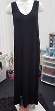 "Ladies BNWT ""Asos"" Black Full Length Summer Dress (Size 12)"