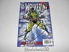 Wolverine #100 Newsstand Cover Comic Marvel Adam Kubert Larry Hama Variant RARE