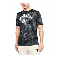 Under Armour Men's T-shirt Project Rock Aloha Camo Short Sleeve 1351585-001
