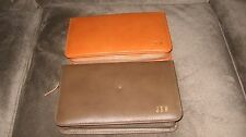 Vintage Men's Shaving Toiletries Grooming Travel Kit with Extra Case Leather