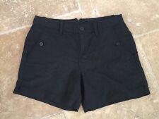 Calvin Klein Jeans NEW! Black Linen/Viscose Women's Shorts Sz. 4 NWOT!