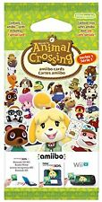 Animal Crossing: Happy Home Designer Season 1 amiibo Cards 3 Pack NEW & SEALED