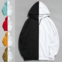 Men's Warm Slim Hoodie Hooded Winter Sweatshirt Coat Jacket Outwear Sweater
