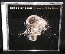 KINGS OF LEON: BECAUSE OF THE TIMES - '07 13-TRACK OZ CD/16p LYRIC BKLT/LIKE NEW