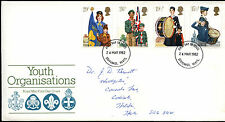 GB FDC 1982 Youth Organisations, Stevenage FDI  #C39516