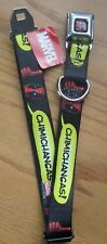 Deadpool Wade Wilson Seat Belt Buckle Down Dog Collar Marvel Chimichangas  0140