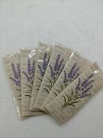 Lavender Scented Sachets for Drawer and Closet pack of 6 pcs Sachet NEW