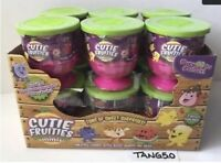 New Cutie Fruities Minis 3 Mystery Inside Blind Packs Full Case Of 12 Fruit Cups