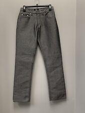 Ladies sz 4 NWOT Karl Kani gray jeans--vintage-high waisted