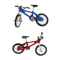 Miniature Alloy Finger Mountain Bike Toy Bicycle Model Cool Boy Gift 2PCS