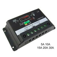 5A-30A Solar Charge Controler Regulator Control Solar Battery Pannel 12V/ 24V BG