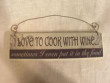 Kitchen Plaque - WINE