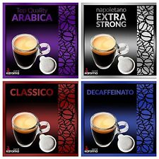 100 Italian Espresso Pods ESE. (Karoma) Choose From 4 Flavors! Mix & Match!