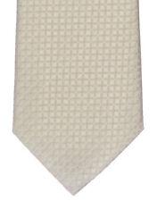 Seidenkrawatte gemustert beige Marken Krawatte 100% Seide Herren